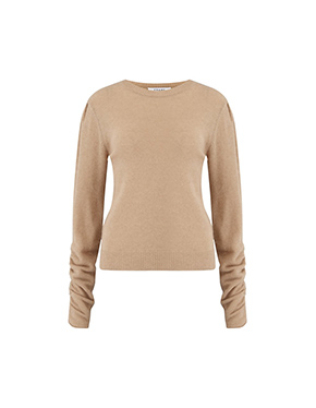 FRAME - Gabby Sweater In Caramel Heather