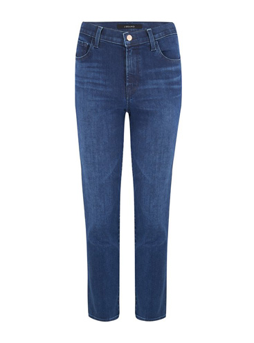 J BRAND JEANS - Ruby Cropped Cigarette Jean in Nightshade