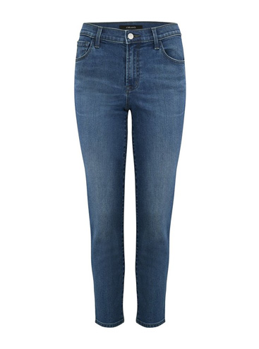 J BRAND JEANS - Ruby Cropped Cigarette Jean in Polaris