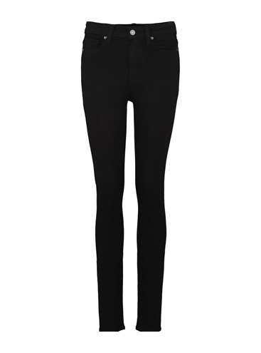 PAIGE - Margot High Rise Skinny Jean in Black Shadow