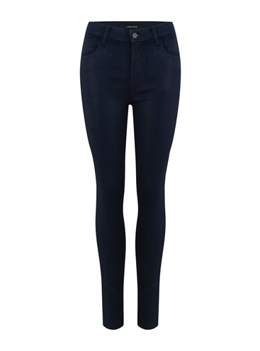 J BRAND JEANS - Maria Skinny Jean in Coated Electric