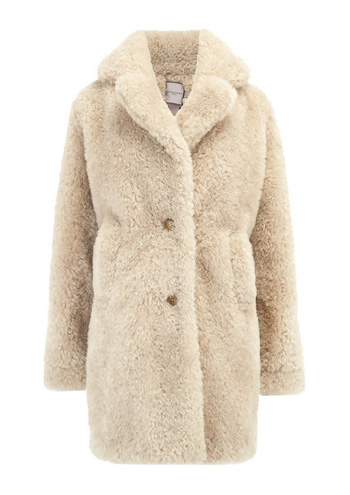 URBANCODE - Exclusive Teddy Coat in Driftwood