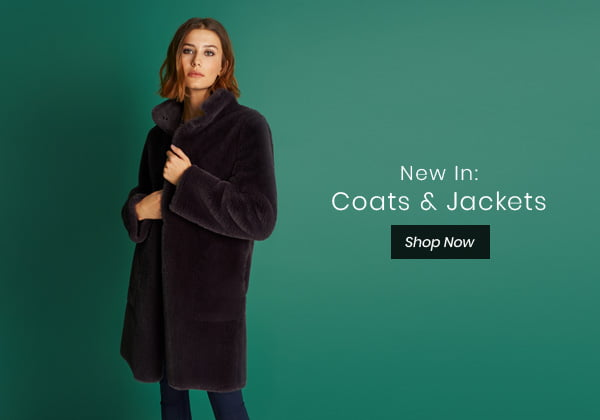 New In: Coats & Jackets