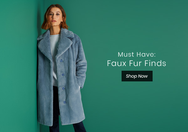 Must Have: Faux Fur Finds