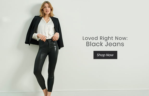 Loved Right Now: Black Jeans