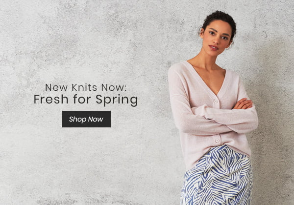 New Knits Now: Fresh for Spring