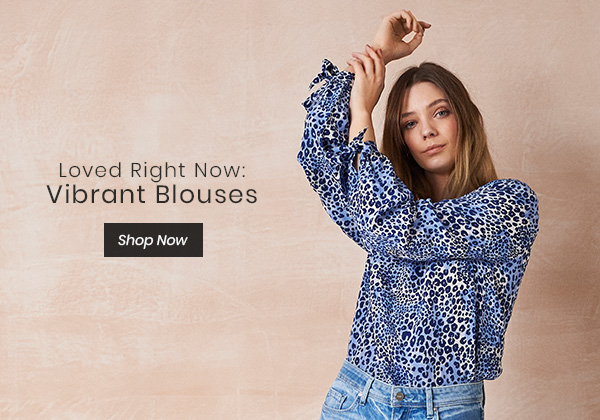 Loved Right Now: Vibrant Blouses