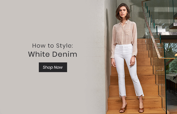 How to Style: White Denim