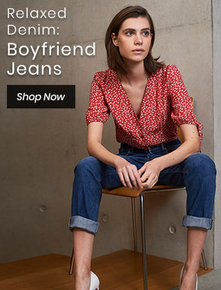 Relaxed Denim: Boyfriend Jeans