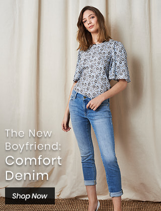 The New Boyfriend: Comfort Denim