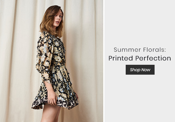Summer Florals: Printed Perfection