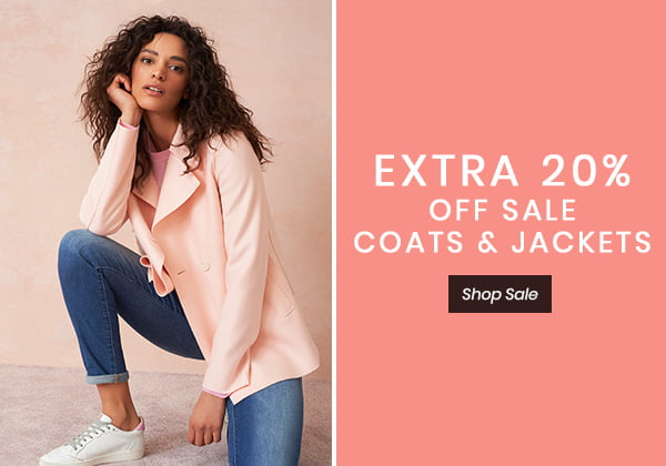 EXTRA 20% OFF SALE COATS