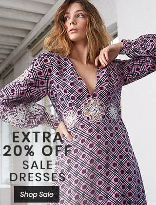 EXTRA 20% OFF SALE DRESSES