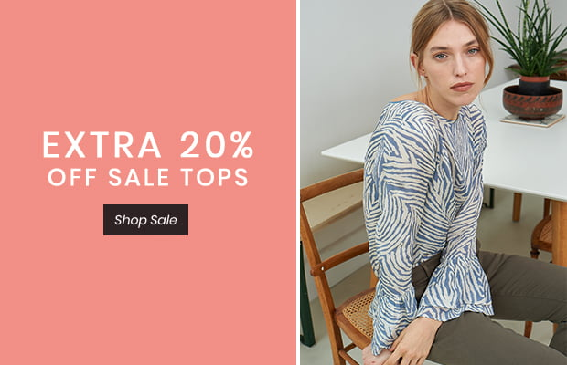 EXTRA 20% OFF SALE TOPS