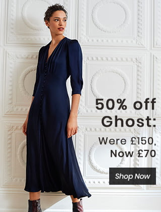 50% Off Ghost: Were £150, Now £70