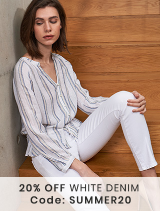 20% Off White Denim - Code: SUMMER20
