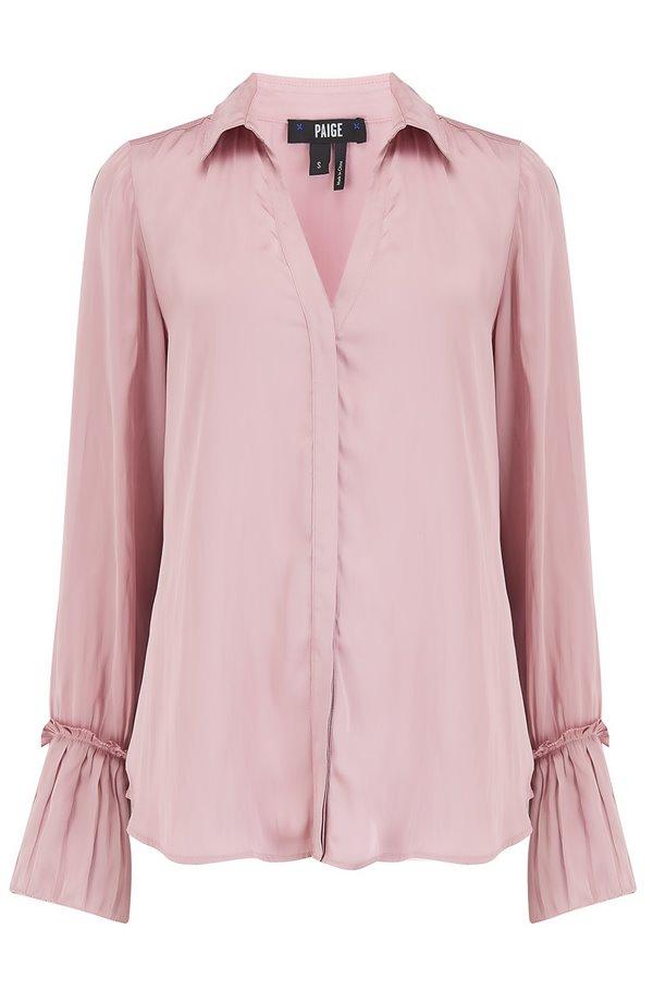 abriana shirt in blush