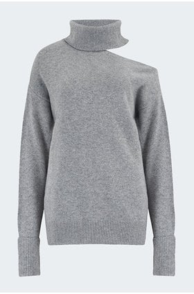 raundi sweater in heather grey