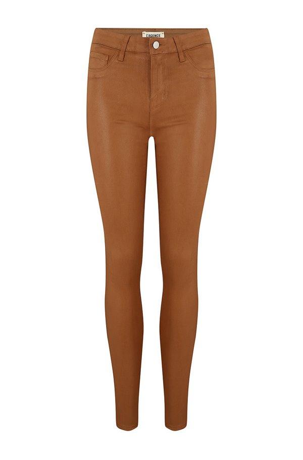 marguerite skinny jean in java coated