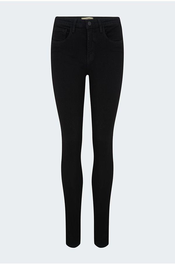 marguerite skinny jean in noir