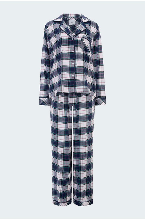 clara pyjama set in pine berry