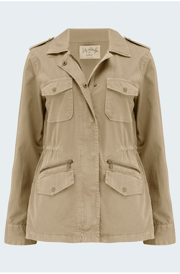 ruby jacket in sand