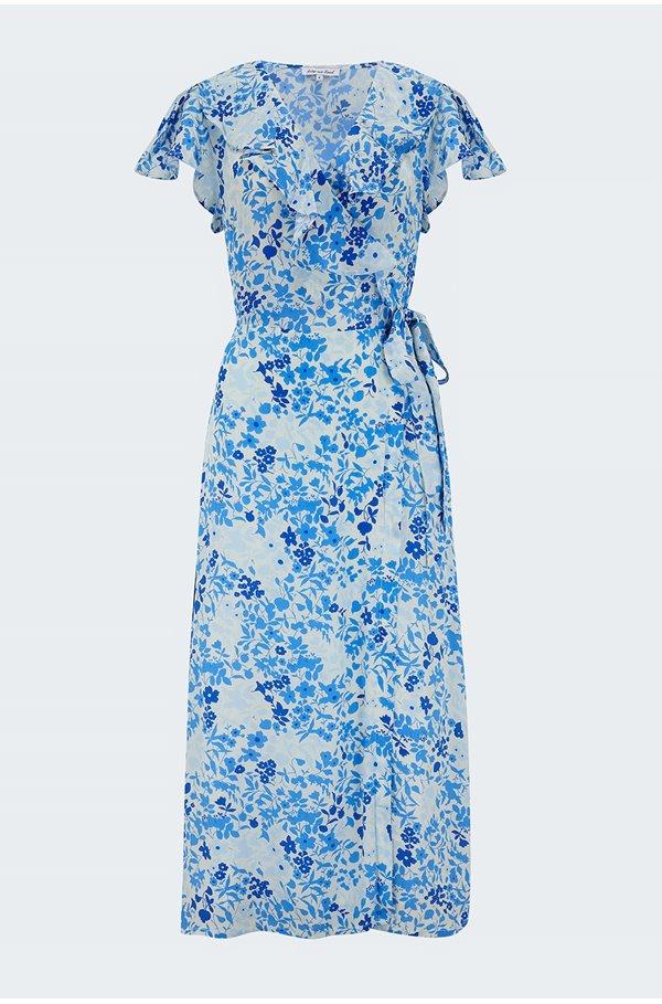 trixie dress in sky blue