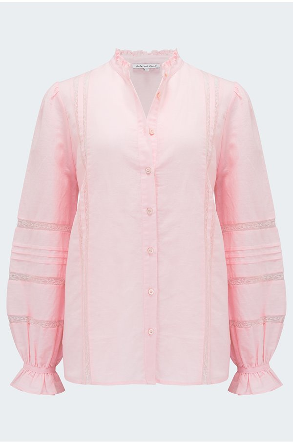abby shirt in pink