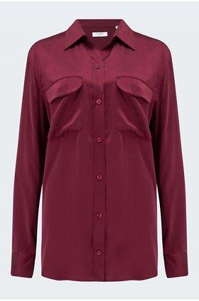 signature shirt in zinfandel