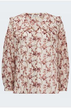 else blouse in chilli