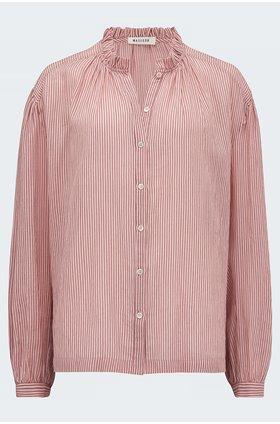 hugh blouse in rosewood