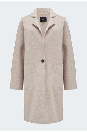 everest coat in oatmeal