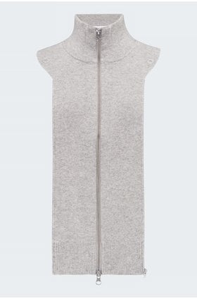 uptown dickey jacket insert in grey
