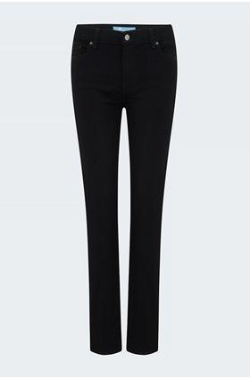 roxanne skinny jean in rinsed black