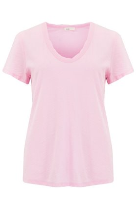 Levete Room  Any Scoop T-Shirt in Pink