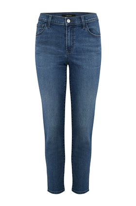 Ruby Cropped Cigarette Jean in Polaris