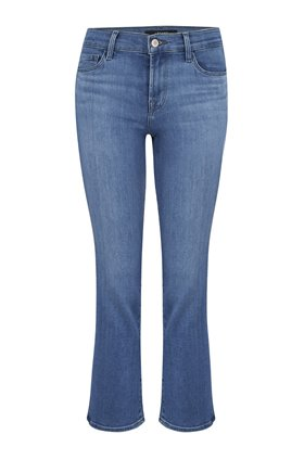 J Brand Jeans Selena Cropped Bootcut Jean in True Love