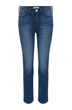 Paige Hoxton Straight Ankle Jean in Stockholm