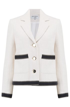 Helene Berman Ava Jacket in Panna Ivory
