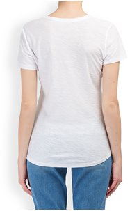 any scoop t-shirt in pure white