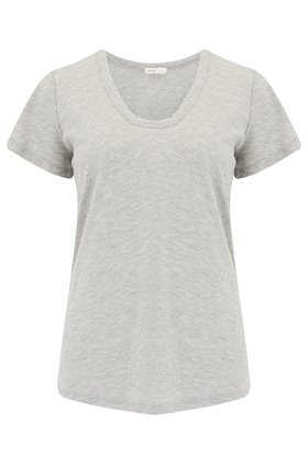 Levete Room  Any Scoop T-Shirt in Light Grey