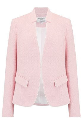 Helene Berman Notch Collar Jacket in Pink