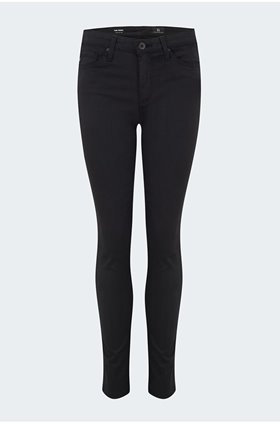 prima cigarette jean in black sateen