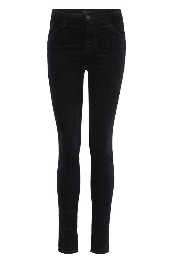 8a5debea88b9 J Brand Jeans Maria Velvet Skinny Jean in Black -