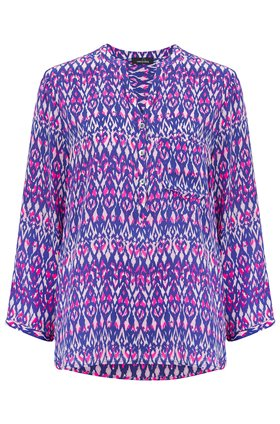 Stanford Blouse in Ikat Primrose