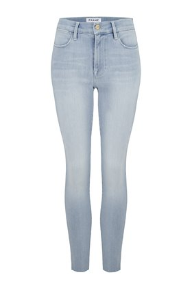Frame Le High Skinny Jean in Swift