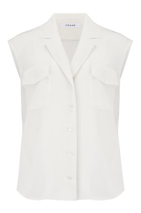Frame Francoise Shirt in Off White