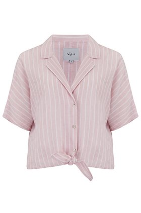 Rails Marley Top in Peach Stripe