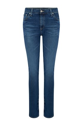 AG Jeans Mari Straight Leg Jean in 12 Years Fluid