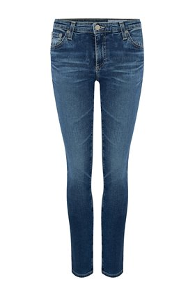 AG Jeans Prima Ankle Cigarette Jean in 12 Years Fluid